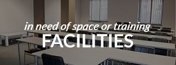 in need of space or training facilities