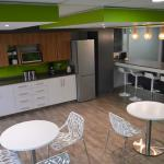 Flexible Workspace Kitchen Area And Break Room